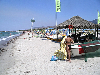 The Main Beach Is Directly Down The Main Road From The Sunset Hotel